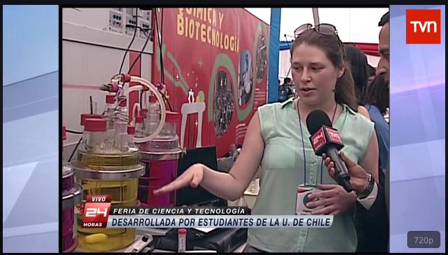 En vivo: TVN visita la Feria de la FCFM